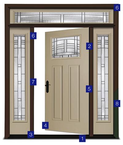 Fiberglass Exterior Door Replacement Houston
