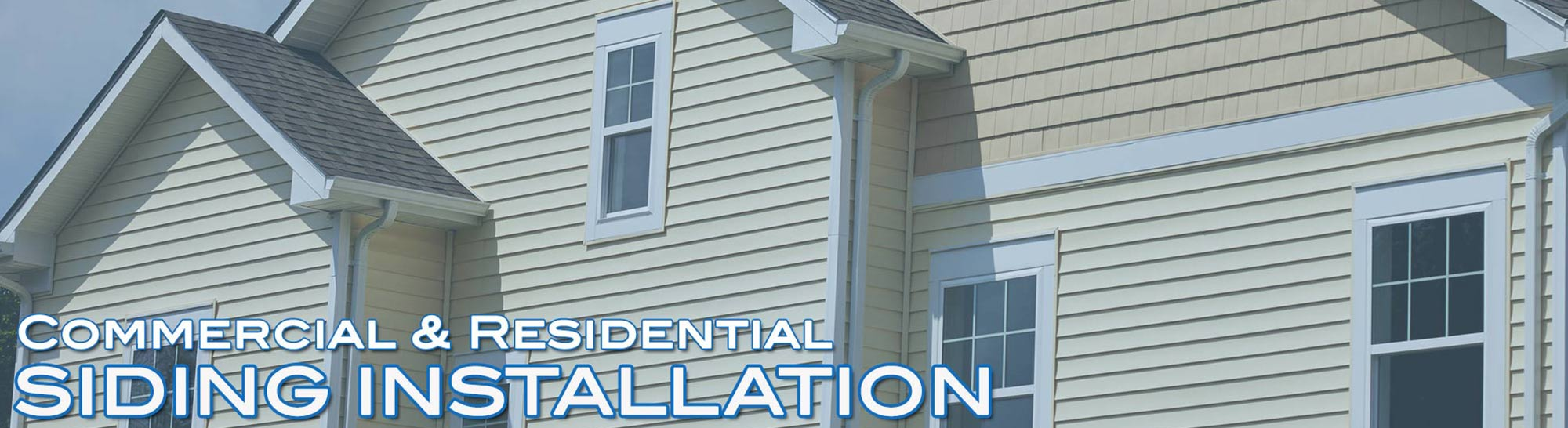 commercial and residential siding installation Houston