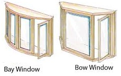 Bay and Bow Replacement Window Houston