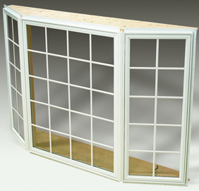 Bay Casement Replacement Window Houston